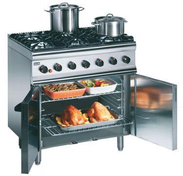 Massey Catering - SLR9/N Range Oven Gas