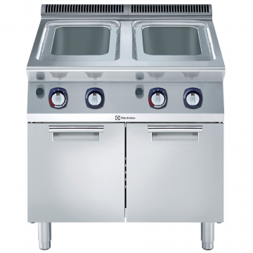Massey Catering - 700XP Freestanding Gas Pasta Cooker, 2 Wells