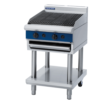 Massey Catering - 600mm Gas Chargrill Leg Stand