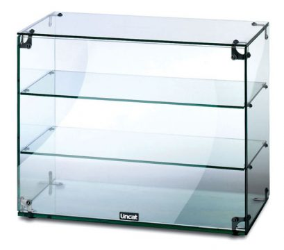 Massey Catering - Glass Display Cabinet Without doors