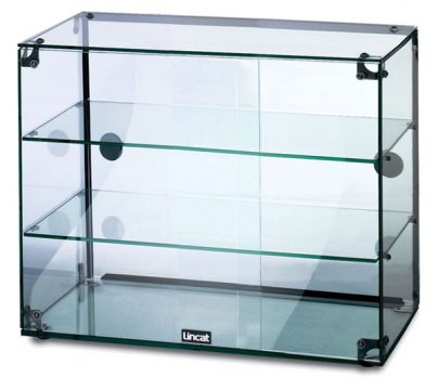 Massey Catering - Glass Display Cabinet With doors