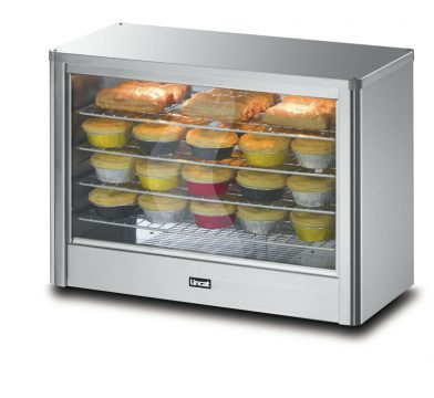 Massey Catering - Pie Cabinet With light and water reservoir