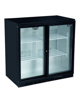 Massey Catering - 2 Sliding Doors Bar Bottle Coolers