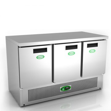 Massey Catering - G903SS – 3 Door Chiller Counter