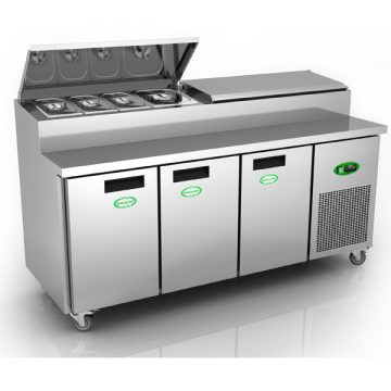 Massey Catering - GPR3700 – 3 Door Prep Counter