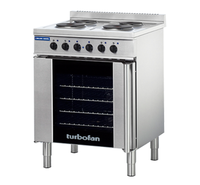 Massey Catering - Full Size Tray Electric Convection Oven And Cooktop