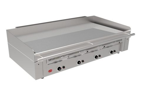 Massey Catering - Mirror Zone 4 Gas Chrome griddle – smooth plate
