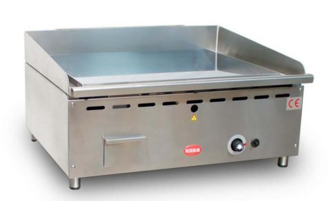 Massey Catering - Mirror G2 Gas Chrome griddle – smooth plate