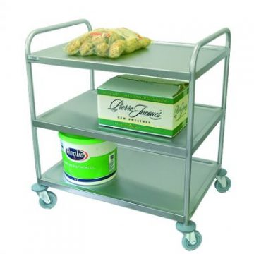 Massey Catering - Small three tier under counter general purpose trolley